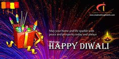 May your home and life sparkle with peace and prosperity today and always. Happy #Diwali to all!!