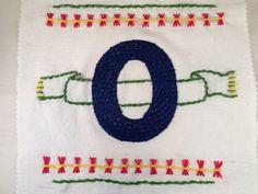 The Pi Project - Embroidered Zero