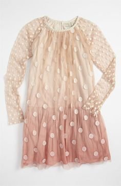 Stella McCartney Dotted Tulle Dress (Little Girls & Big Girls) available at #Nordstrom
