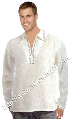 Royal short kurtas for men made in pure Linen fabric.