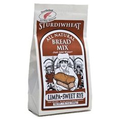 I'm learning all about Sturdiwheat Limpa Sweet Rye Bread Mix All Natural at @Influenster!