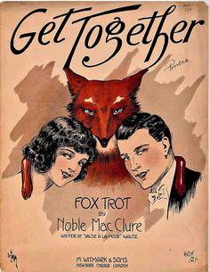 Get together  1920s sheet music.