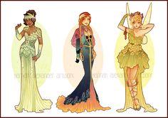Art Nouveau Costume Designs VII by Hannah-Alexander.deviantart.com on @DeviantArt