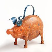 Pig Watering Can  Or this one would be a great mother's day gift  Fun fun