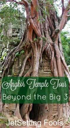 Our first day on the Angkor Temple Tour Trail took us to the Big Three: Angkor Wat, Angkor Thom and Ta Prohm, but there is more to see at the UNESCO World Heritage Angkor Archaeological Park than just those...