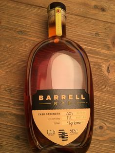Review 82: Barrell Rye Batch 001 #bourbon #whiskey #whisky #scotch #Kentucky #JimBeam #malt #pappy