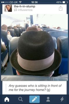 Patrick Stump!!! Omg! XD I'd steal his hat and sit back quickly and just pretend nothing happened until he turned around! XD OMG!
