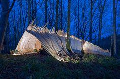 Hooke Park Tetrahedron & Big Fish by AA Design & Make