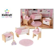 Attractive Wooden Dollhouse Furniture