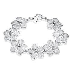 Schöner Modeschmuck NYKKOLA 925) massives Armband Silber…