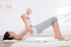 Top Moves to Get Your After-Baby Body, Fast!