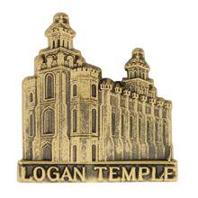 Logan Temple Pin in Gold - $4.95