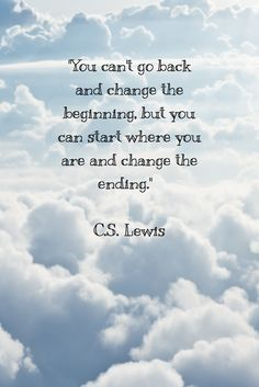 inspirational quote, C.S. Lewis