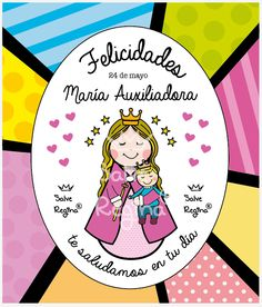 Virgencitas ♥ Mama Mary, Mother Mary, Mayo, Quilling, Blessed, Doodles, Faith, Sayings, Words