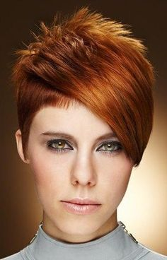 *** Beautiful short hairstyles for ordinary women like you and me … What do you think of number 5!!