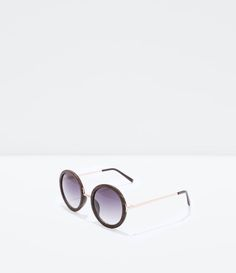 ZARA - COLLECTION SS15 - WOOD-FRAMED SUNGLASSES