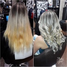 Ombre#blonde#matrix😍