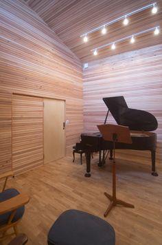 アトリエフルカワ - 設計事例「音楽スタジオのある家」 注文住宅のハウスネットギャラリー