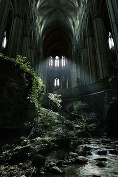 Abandoned church in Etienne, France