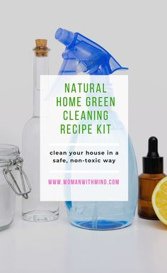 Natural Cleaning Recipes For Home — Woman With Mind #printable #DIY #download #essentialoils #print #printable #download #downloadandprint #naturalhome #natural #instantdownload #pdf
