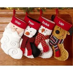 Personalized Furry Friends Christmas Stocking