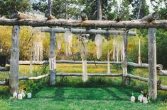 """Karen and James describe the inspiration for their wedding at The Hideout in Kirkwood, CA as """"Bohemia in the woods,"""" and with elements like a ceremony Gypsy Wedding, Magical Wedding, Woodland Wedding, Dream Wedding, Wedding Blog, Bohemian Flowers, Bohemian Bride, Wedding Trends, Wedding Styles"""