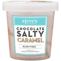 Image result for steve's chocolate salted caramel