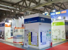 Exhibition area design for our customer Ape Raccorderie at Expocomfort 2012 fair in Padova, Italy