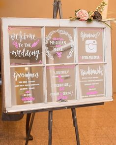 Such a fun and budget friendly alternative to wedding programs! || Photography: Susan and Kia