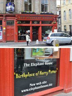 original bookstore of harry potter
