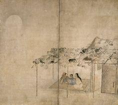 東京国立博物館 - コレクション 名品ギャラリー 館蔵品一覧 納涼図屏風(のうりょうずびょうぶ)