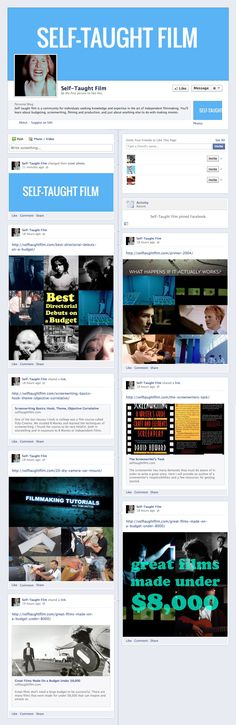 Self-Taught Film Facebook Page