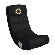 Boston Bruins Rocker Video Gaming Chair w/ Bluetooth