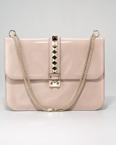 Patent Grande Lock Bag  by Valentino at Neiman Marcus.