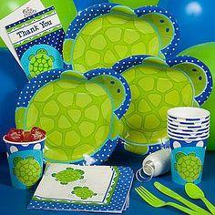 Turtle baby shower ideas.
