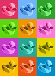 canvas art Great Big Canvas 'Rubber Ducks' by Michael Tompsett Graphic Art Print Rubber Duck Bathroom, Duck Art, Duck Duck, Decoupage, World Map Canvas, Personalised Canvas, Canvas Art, Big Canvas, Thing 1