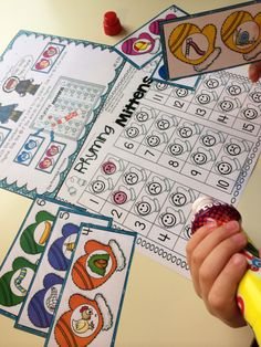 January literacy and math centers for Kindergarten. 24 activities included! Common core standards included.