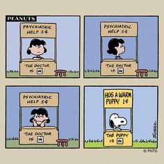 Snoopy knows how to upset Lucy! Snoopy Cartoon, Snoopy Comics, Peanuts Cartoon, Peanuts Snoopy, Peanuts Comics, Schulz Peanuts, Snoopy Love, Snoopy And Woodstock, Snoopy Hug