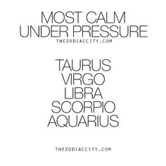 Calm on the outside, thunder lightening and earthquakes on the inside! Lol. But it's ok. It's ok. ... libra.