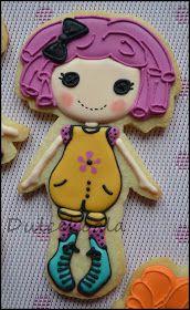 Dulcekoala Galletas Decoradas... y otros dulces...: GALLETAS DECORADAS MUÑEQUITAS LALALOOPSY. SORTEO PRIMER CUMPLEBLOG !!BIEEEN!!