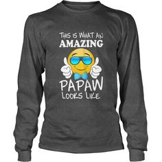 Mens Emoji papaw tee shirt birthday or fathers day gift idea, Order HERE ==> https://www.sunfrog.com/LifeStyle/127522025-784645612.html?89699, Please tag & share with your friends who would love it, #renegadelife #jeepsafari #birthdaygifts