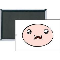 [Adventure Time: Magnet: Finn Face (Product Image)]