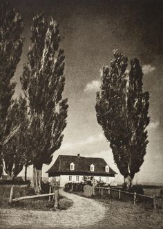 Adolf Fassbender :: The Sentinels, 1937 - Pictorial Artistry: The Dramatization Of The Beautiful In Photography Moving Photos, Black And White Landscape, Old Photography, The Past, World, Painting, Outdoor, Beautiful, Vintage
