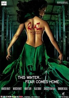 Raaz: The Mystery Continues 2009 Poster Movies To Watch Hindi, Hindi Movies, Bollywood Posters, Movies 2014, Film Archive, Free Tv Shows, Horror Films, Movies Online, Movies And Tv Shows