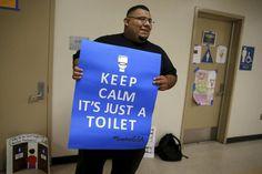 13 Best Gender Neutral Bathroom Signs Images In 2016