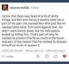 Tumblr; Revolution; Bass Monroe; Sebastian Monroe; Charlie Matheson; Charlotte Matheson; Ben Matheson; Danny Matheson; Miles Matheson