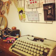 Gabulle in Wonderland : vintage tapewriter @gabulleinwonderland Instagram photos | Webstagram