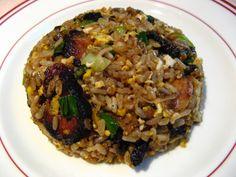 Cumin Red Cooked Pork Fried Rice (孜然紅燒肉炒飯, Zi1 Jin4 Hung4 Siu1 Juk6 Caau2 Faan6)
