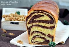 this stuff is the best Romanian Desserts, Romanian Food, Bosnian Recipes, Food Obsession, Pastry And Bakery, Bread Cake, Sweets Recipes, Sweet Bread, Love Food
