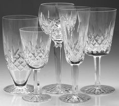 waterford crystal stemware   Waterford Crystal History at Replacements